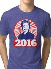 Hillary Clinton 2016 Tri-blend T-Shirt