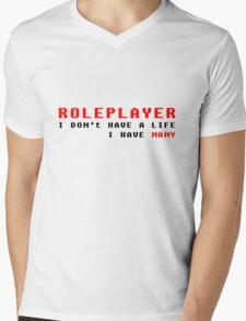 Who needs a single life? Mens V-Neck T-Shirt