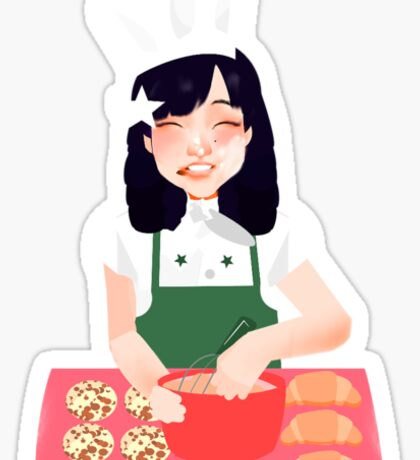 Baking~ Sticker