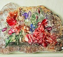 rock'nroll flowers by sabine miner