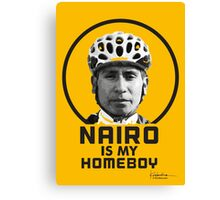 Nairo is My Homeboy : TDF Yellow Canvas Print