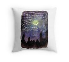Eight More Lives Throw Pillow