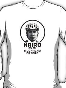 Nairo es mi muchacho casero / Nairo is My Homeboy (Spanish) : TDF Yellow T-Shirt