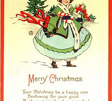 Merry Christmas 1922 Style by OregonCurly