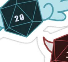 Natural 20 vs Fumble Sticker