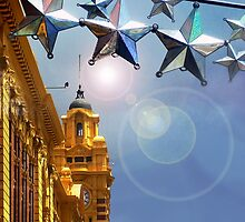 Melbourne Christmas by Roz McQuillan