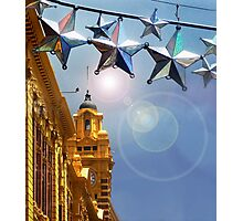 Melbourne Christmas Photographic Print