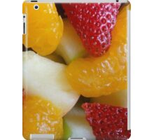 Cup of Fruit Closeup iPad Case/Skin