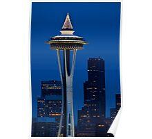 Space Needle, Seattle, WA Poster