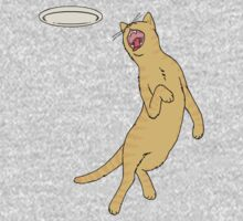 Frisbee Cat Baby Tee