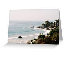 Malibu Beach Greeting Card