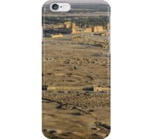Palmyra Overview showing the Temple of Baal-Shamin iPhone Case/Skin