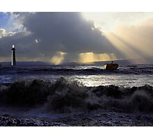 Storms Of Life, A Fathers Story of Loss Photographic Print