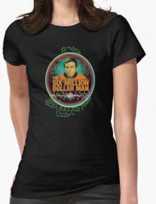 six million dollar man Womens Fitted T-Shirt