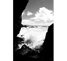 Muir Beach BW Photographic Print