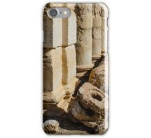 2000 year old interlocking stone water pipes at Palmyra .... being destroyed iPhone Case/Skin