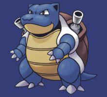 Blastoise Pokémon by Vortlas