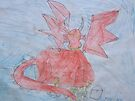 Guardian Dragon (by my 7 year old) by Dianne  Ilka