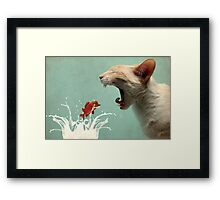 Get in my Belly Framed Print