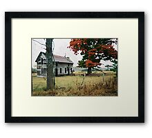 Old Ozark House 3 Framed Print