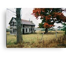 Old Ozark House 3 Canvas Print