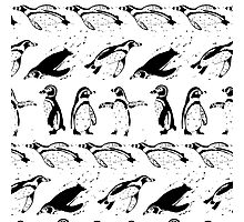 Penguin Crazy  Photographic Print