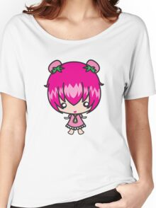 strawberry girl Women's Relaxed Fit T-Shirt