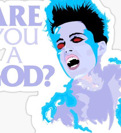 Are You A God? Sticker
