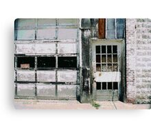 Ragged Building 6 Canvas Print