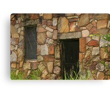 Rock Building at Cedarville Canvas Print