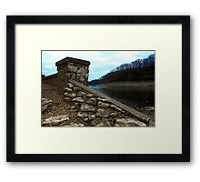 Ruins at Monte Ne 2 Framed Print