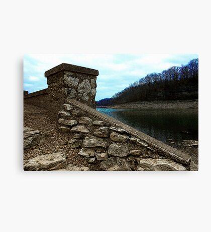 Ruins at Monte Ne 2 Canvas Print