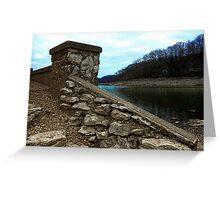 Ruins at Monte Ne 2 Greeting Card