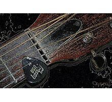 Sigma Guitar Photographic Print
