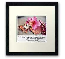The Year Of The Babylost - April 2011 Framed Print