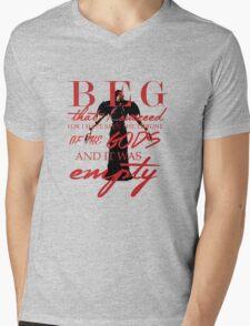 Corypheus quote Mens V-Neck T-Shirt
