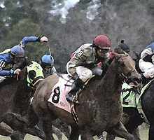 Thoroughbreds 5 by Rick Baber