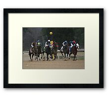 Thoroughbreds 6 Framed Print