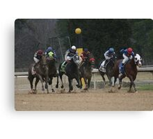 Thoroughbreds 6 Canvas Print