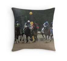 Thoroughbreds 6 Throw Pillow