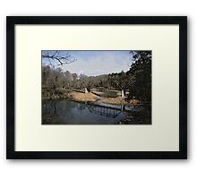 Trestle off 540 Framed Print