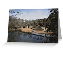 Trestle off 540 Greeting Card