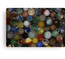 Uncle Jeff's Marbles Canvas Print