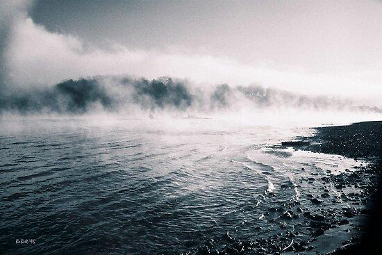 White River Shoreline by Rick Baber