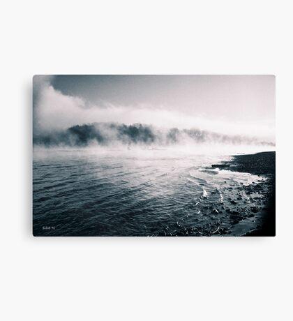 White River Shoreline Canvas Print