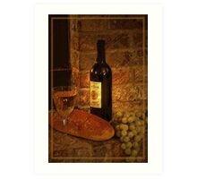 White Wine 2 Art Print