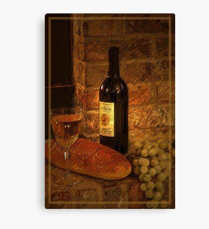 White Wine 2 Canvas Print