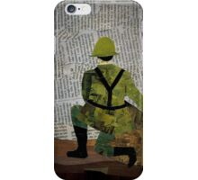 World War One Soldier iPhone Case/Skin