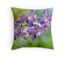 Purple Touch Throw Pillow