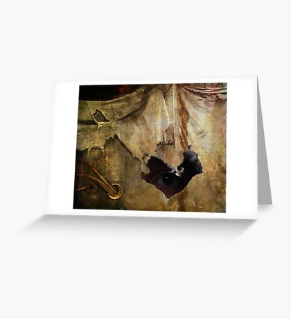 Hiding In Decay Greeting Card
